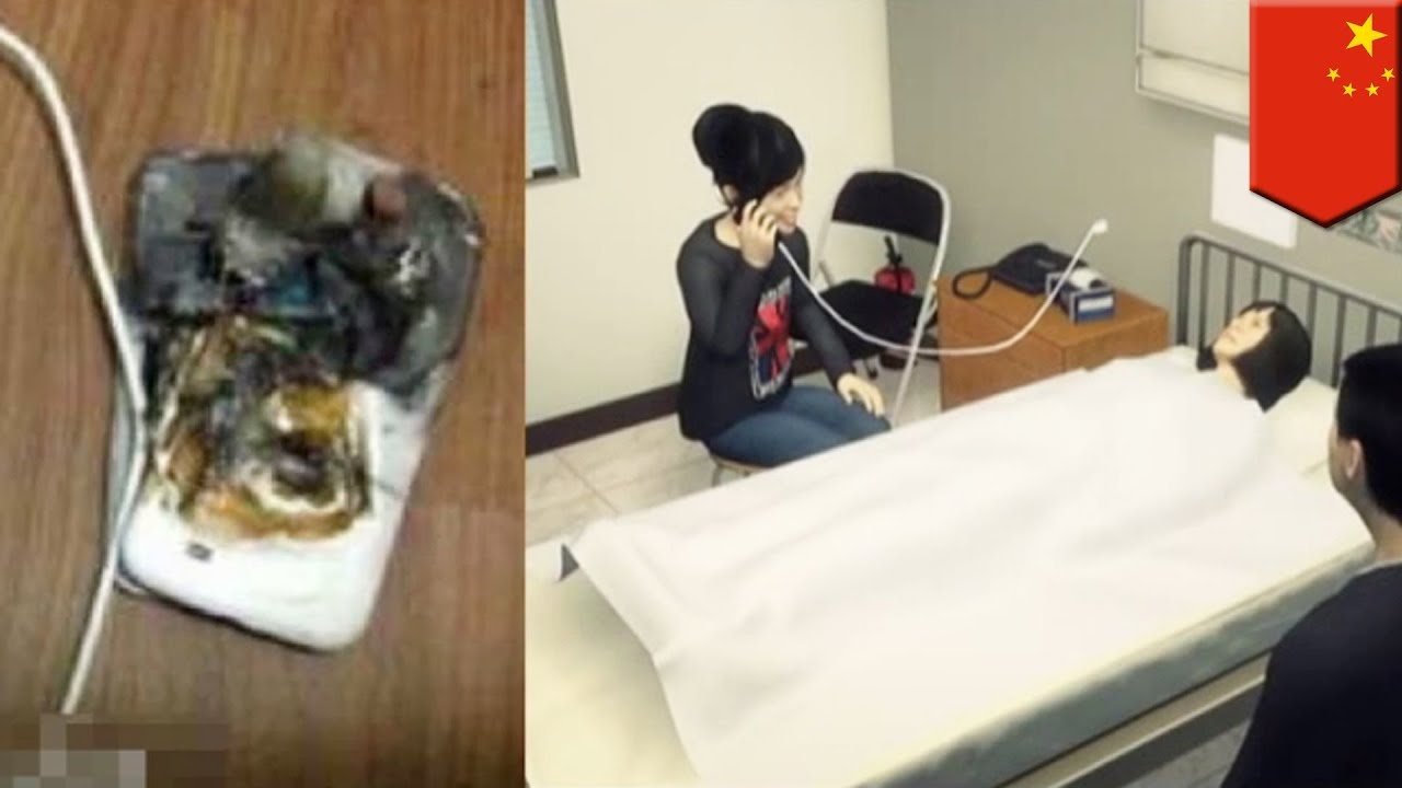 Mobile Phone Battery Explosion Girl S Phone Explodes In