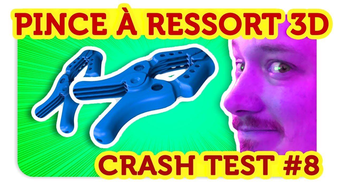 pince a ressort ! crash test 3d !! - youtube