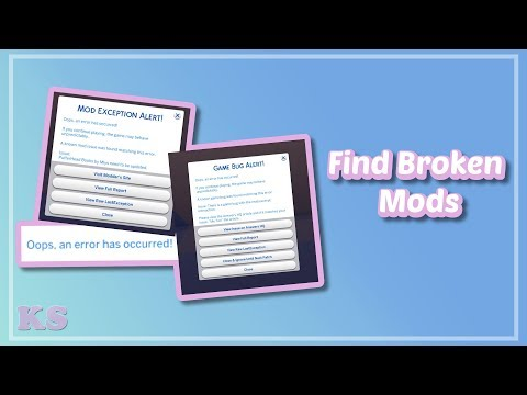 Better Exceptions Mod | The Sims 4: Mod Overview | Detect
