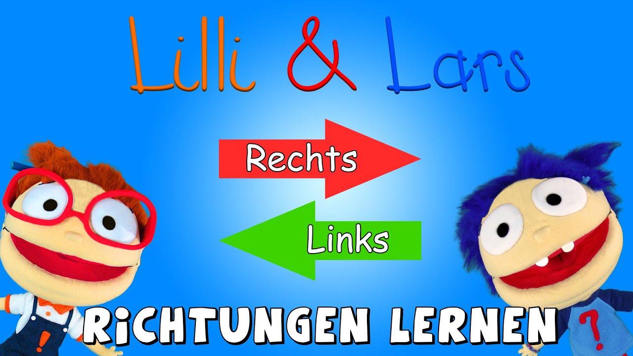 richtungen lernen mit lilli und lars rechts und links lernen f r kinder youtube. Black Bedroom Furniture Sets. Home Design Ideas