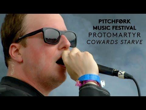 "Protomartyr perform  ""Cowards Starve"" - Pitchfork Music Festival 2015"