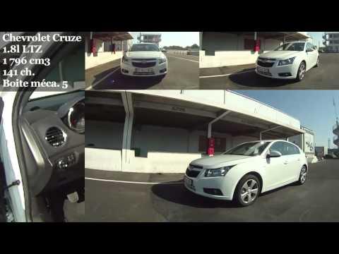 Chevrolet Cruze 1.8 LTZ (0 à 100 Km/h)