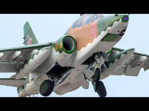 В Ставропольском крае разбился штурмовик Су 25УБ