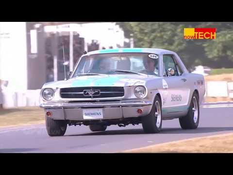 Độ xe cổ Mustang 1965 thành chiếc xe tự lái