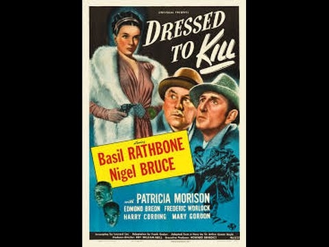 Sherlock Holmes Dressed to Kill 1946 In Colour Legendado Portugues Basil Rathbone N. Bruce Complete