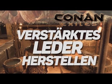Conan Exiles Verstärktes Leder