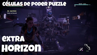 HORIZON ZERO DAWN   USO DE CELULAS DE ENERGIA  1 Y 2 ARSENAL ANTIGUO    GUÍA