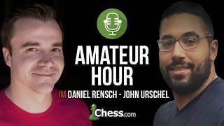 Amateur Hour: Chess Puzzles with John Urschel