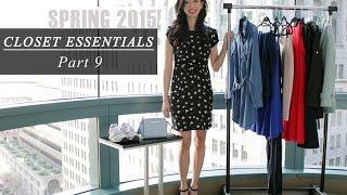 Spring Fashion Closet Essentials, spring style, spring essentials