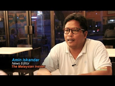 Amin Iskanda : New Media and Press Freedom in Malaysia อนาคตสื่อมาเลเซีย