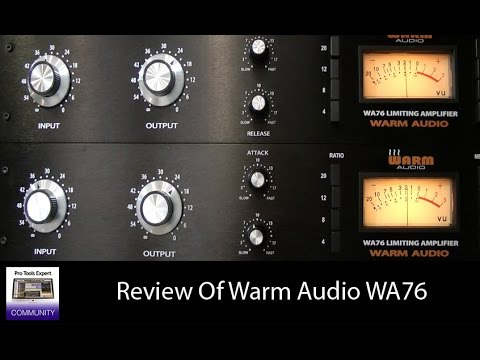 review of the warm audio wa76 youtube. Black Bedroom Furniture Sets. Home Design Ideas