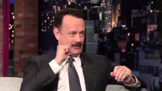 Tom Hanks   on David Letterman Late Show