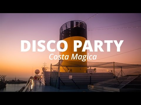 DISCO PARTY SU COSTA MAGICA - Crociera Isole Del Sole | Travel Diary