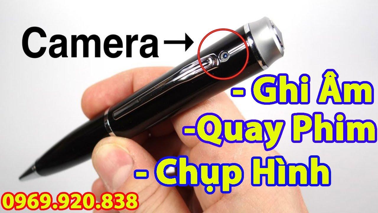 Cách Sử Dụng Bút Camera Ngụy Trang Full HD 1080P Quay Phim và Ghi âm giá Rẻ