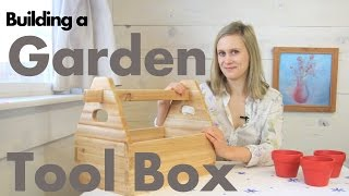 How To Build A Garden Tool Box From Cedar