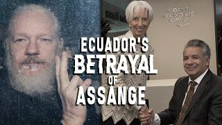 What's behind Ecuador's betrayal of Assange? Ex-Foreign Minister Guillaume Long explains
