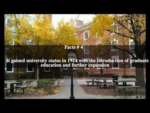 Rutgers University Top # 9 Facts