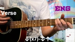 The Cranberries - Zombie guitar how to play lesson easy tutorial acoustic no capo