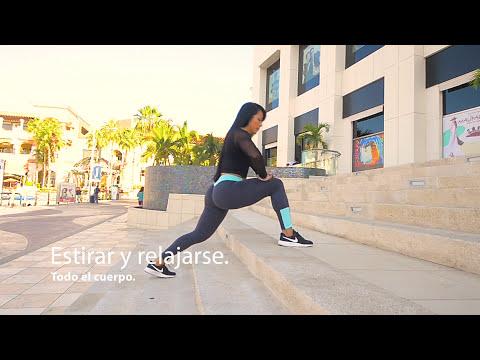 EJERCICIO en ESCALERAS abdomen brazos y piernas con Ana Mojica Fitness