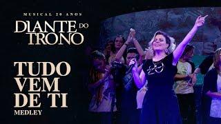 MUSICAL 20 ANOS DIANTE DO TRONO | EP. 18 | MEDLEY TUDO VEM DE TI thumbnail