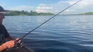 Карась на блесну Прикол на рыбалке