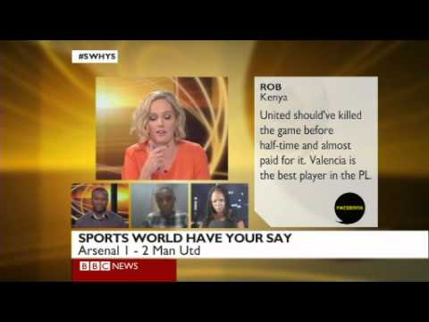 BBC Sports World Have Your Say: 22nd Jan 2012