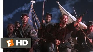 Glory (8/8) Movie CLIP - Breaching Fort Wagner (1989) HD