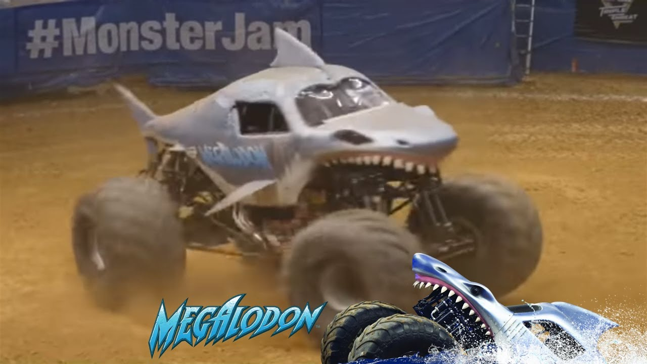 Best Of Megalodon Monster Truck Donuts Ep 2 Youtube