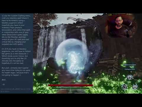 """Lichdom: Battlemage """"Pitlurker"""" Snake / Worm Mini-Boss Glitch solution Solution Strategy guide 
