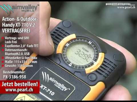 simvalley MOBILE Action- & Outdoor-Handy XT-710 V.2 - VERTRAGSFREI