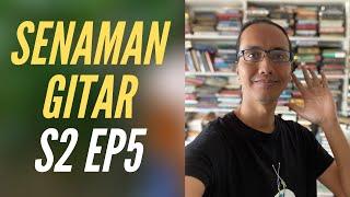 SENAMAN GITAR Legato, String Skipping & Sweep Picking 5 tali   SENAMAN GITAR S2 EP5   #AZGTR017