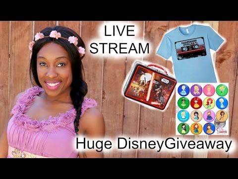 Audrey Lee Live - 2,000 Subscriber Giveaway | Disney Chat