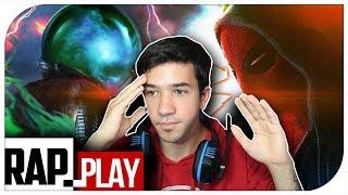 REACCIÓN | SPIDER-MAN VS MYSTERIO EPIC RAP | KRONNO ZOMBER | Especial 5 Millones (PARTE 1)