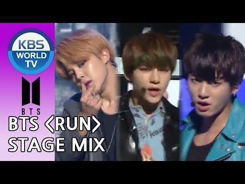BTS(방탄소년단) - RUN[Music Bank Stage Mix Ver.]