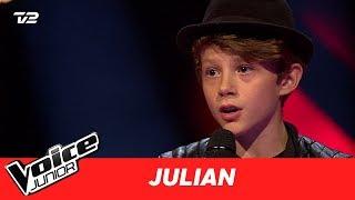 "Julian   ""One Call Away"" af Charlie Puth   Blind 4   Voice Junior Danmark 2017"