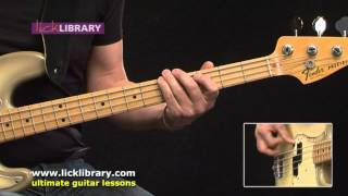 Learn To Play Rock Basslines - Bass Guitar Lessons With Phil Williams Licklibrary