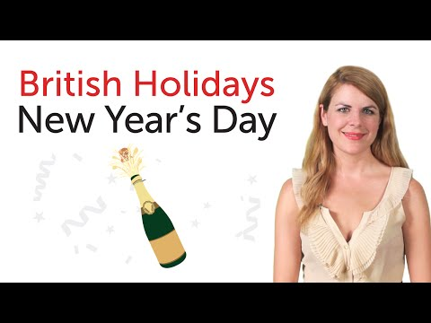 British Holidays - New Year's Day