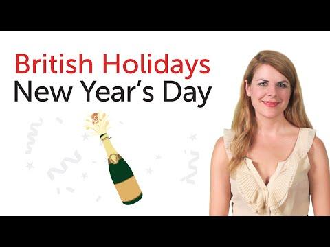 British Holidays - New Year's Day