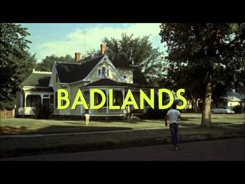 Opening scene + theme from Badlands (1973)