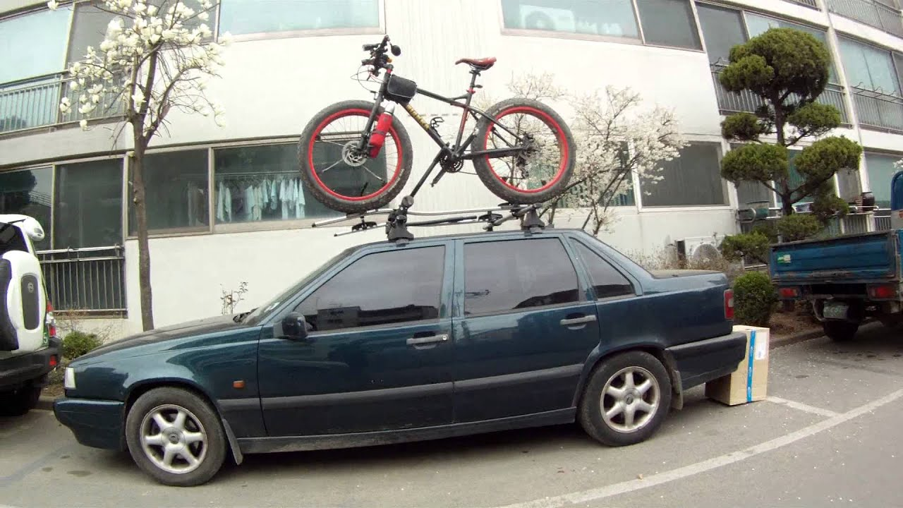 Review – Fat Tire Kit for the Thule T2 Platform Hitch Rack ...  |Fat Bike Roof Rack Thule