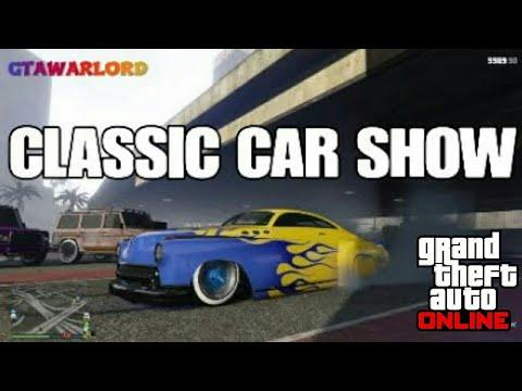 GTA ONLINE CLASSIC CAR SHOW NEW 2018 PS4