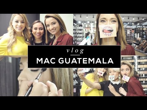 VLOG: MAC Art of the lip GUATEMALA ⎥Teffa Sierra