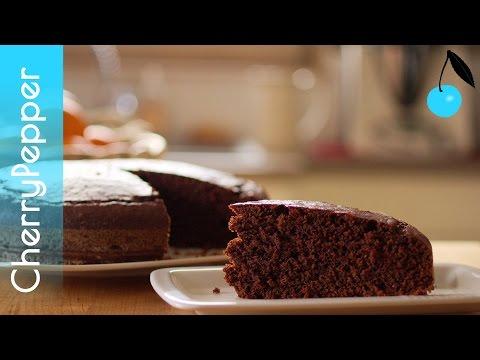 gâteau-au-chocolat-moelleux---recette-sans-beurre,-sans-oeufs---vegan---cherrypepper