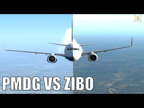 PMDG vs ZIBO - Battle of the 737-800|Drawyah