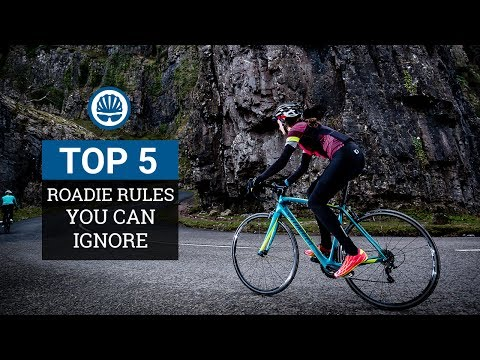 Top 5 - Road Cycling Rules You Can Safely Ignore