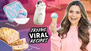 I Tested VIRAL Ice Cream RECIPES To See If They Work - Part 5
