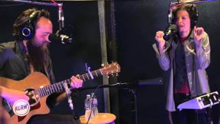 "Sam Beam and Jesca Hoop performing ""Every Songbird Says"" Live on KCRW"