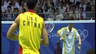 吳 蔚 vs 林 丹 2008 北京奧運羽毛球男單1