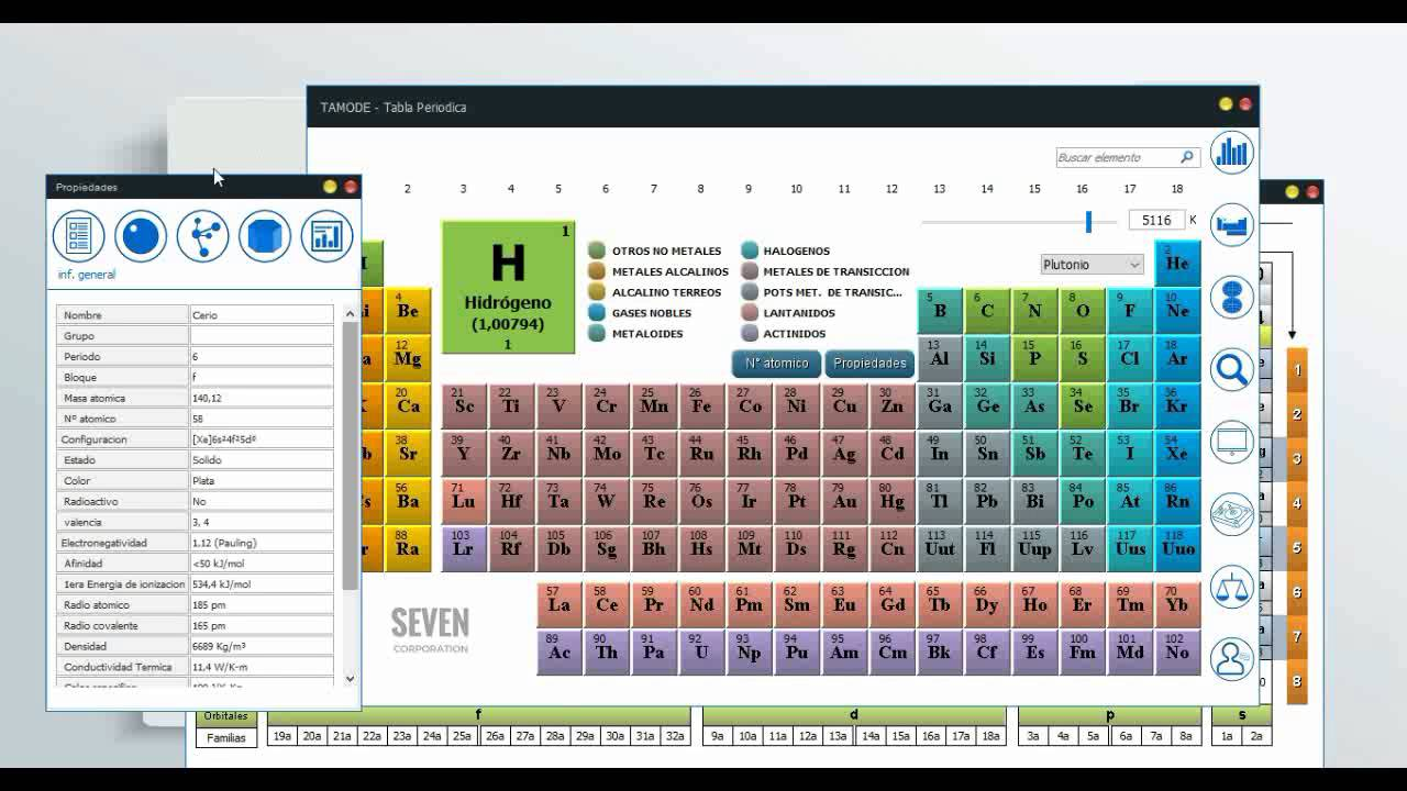 Software educativo de quimica tabla periodica de los elementos software educativo de quimica tabla periodica de los elementos quimicos tamode youtube urtaz Image collections