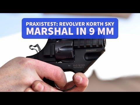 Was kann der kompakte Revolver Korth Sky Marshal in 9 mm? Warum ist er anders? Wir zeigen es euch!